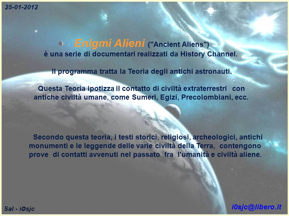 Enigmi Alieni ( Ancient Aliens )