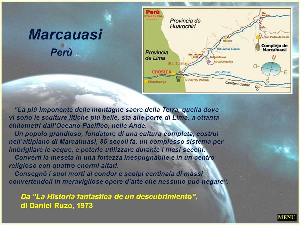 Marcauasi Perù Da La Historia fantastica de un descubrimiento ,