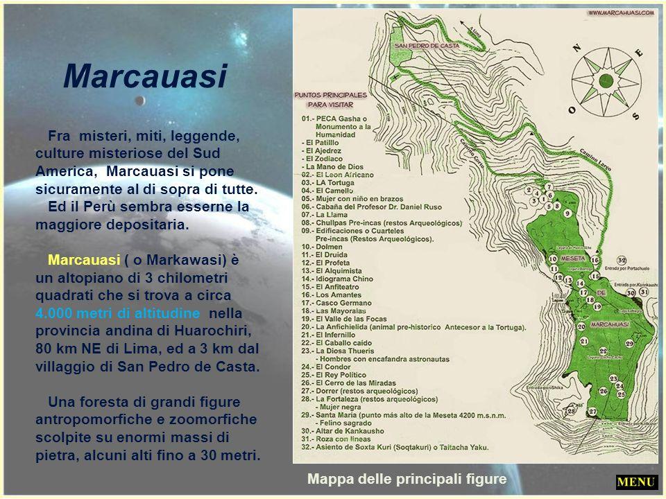 Marcauasi Mappa delle principali figure
