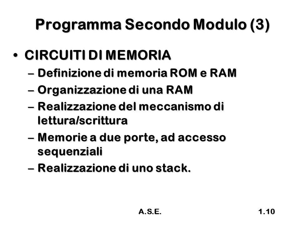 Programma Secondo Modulo (3)