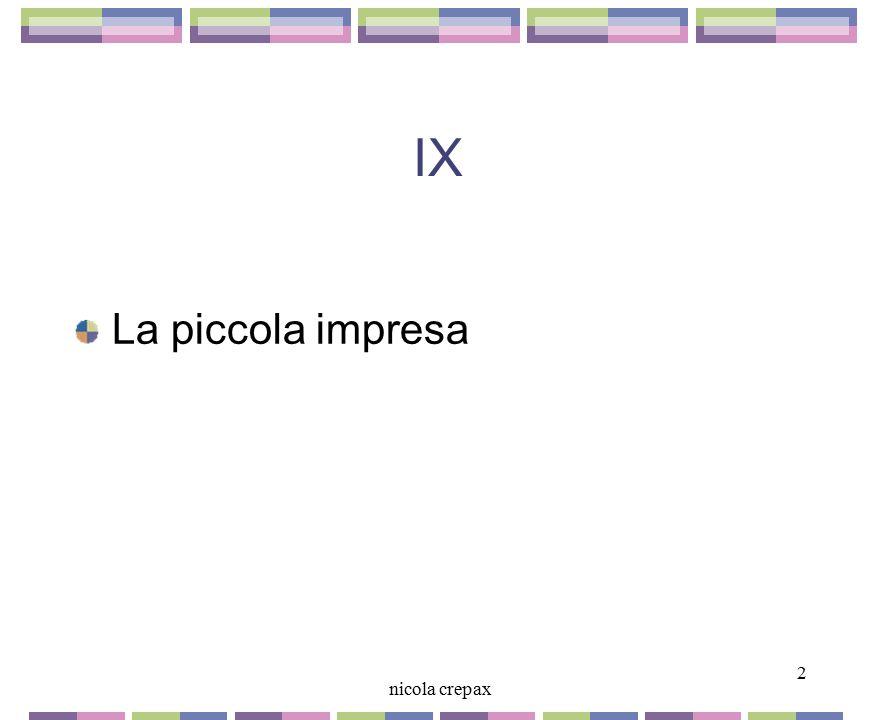 IX La piccola impresa 2 nicola crepax 2