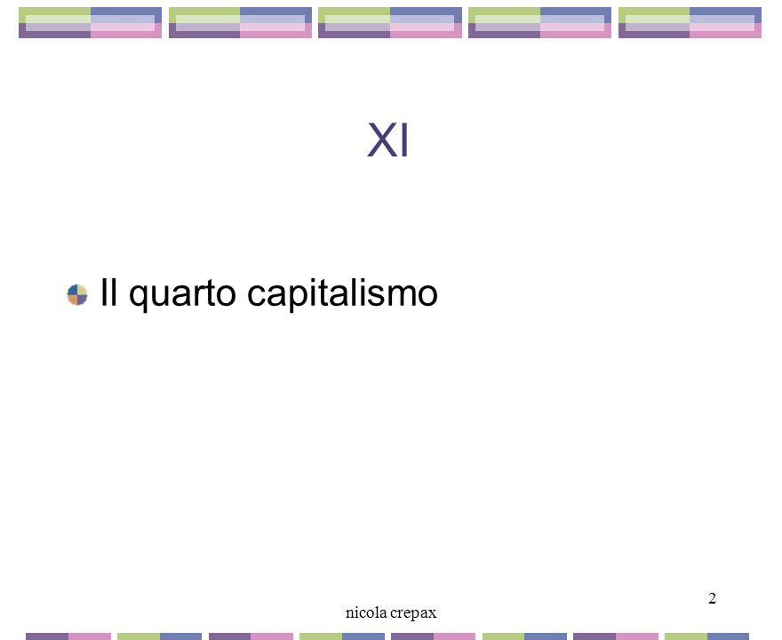 XI Il quarto capitalismo 2 nicola crepax 2