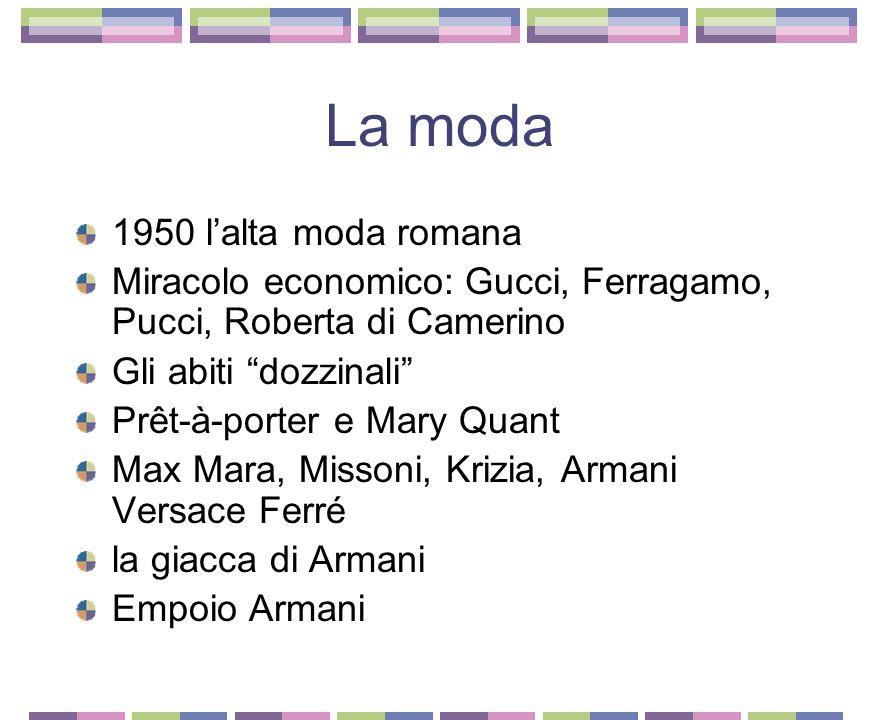 La moda 1950 l'alta moda romana