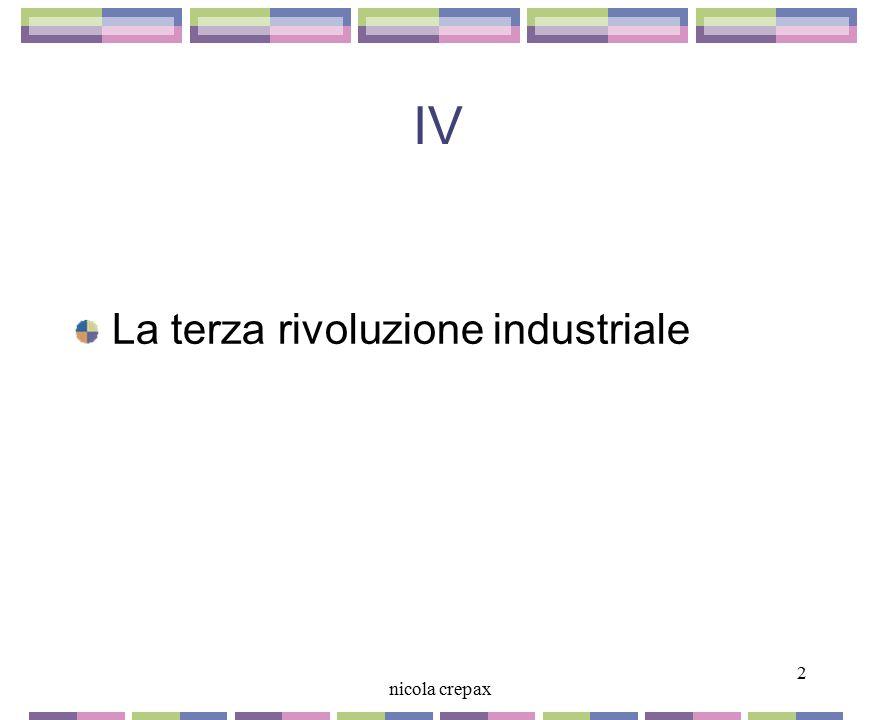 IV La terza rivoluzione industriale 2 nicola crepax 2