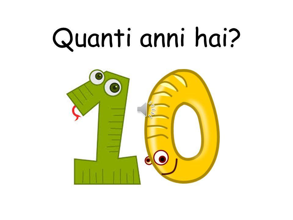 Quanti anni hai