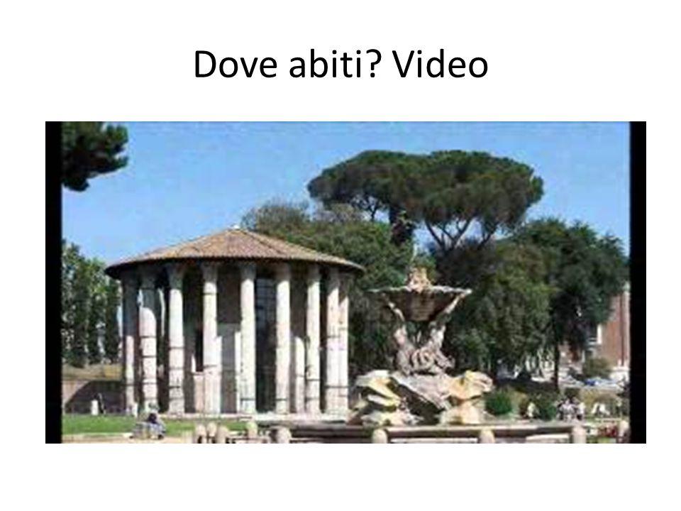 Dove abiti Video http://youtu.be/0I2k0VdvIrw