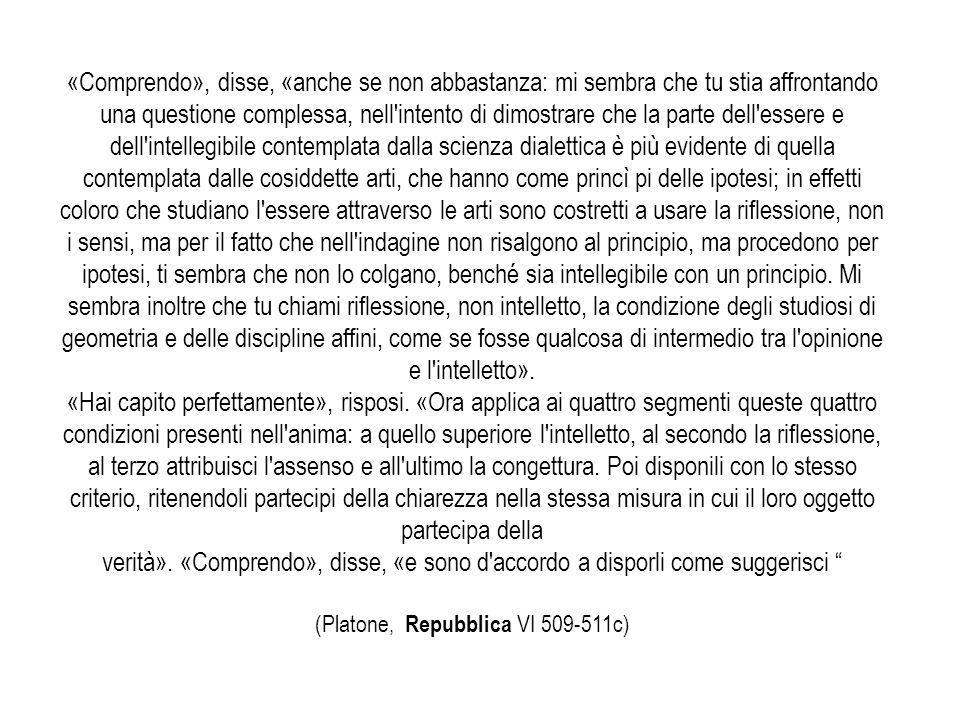 (Platone, Repubblica VI 509-511c)