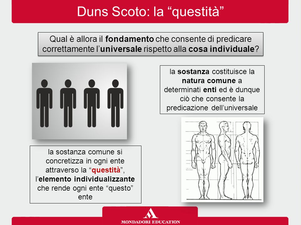 Duns Scoto: la questità