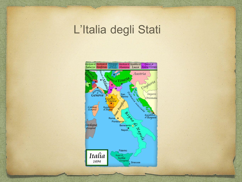 L'Italia degli Stati Morte di Federico II, crisi potere imperiale - Papato e comuni.