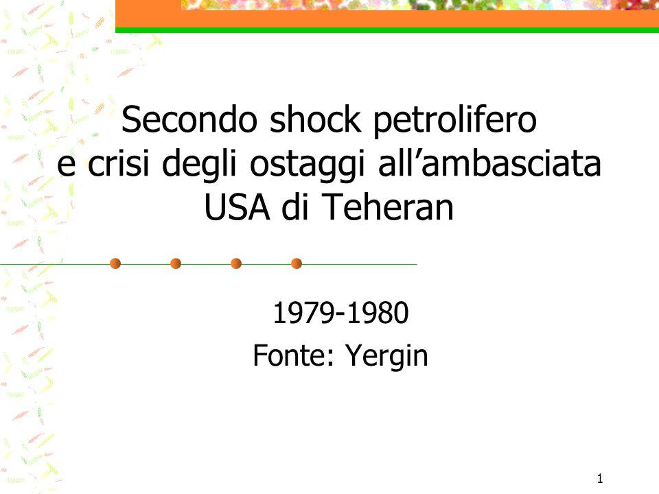 Secondo shock petrolifero e crisi degli ostaggi all'ambasciata USA di Teheran