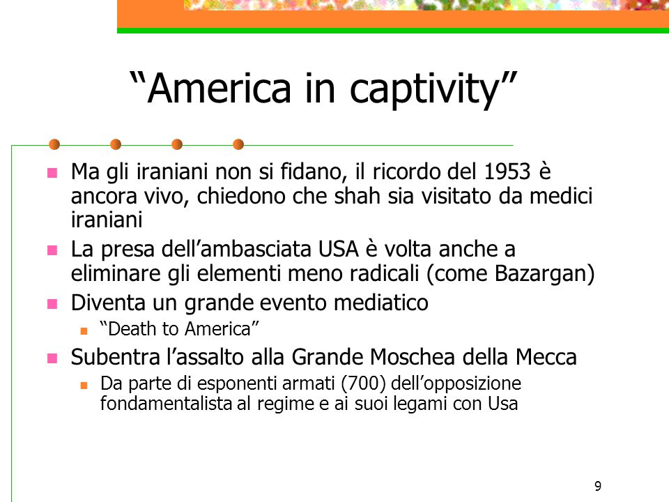 America in captivity