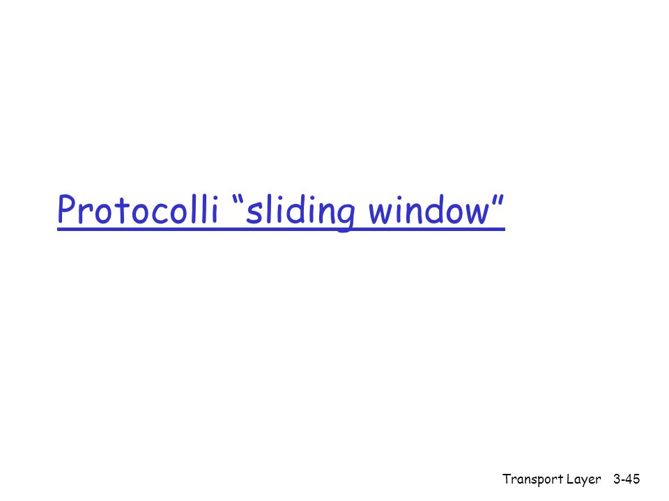 Protocolli sliding window