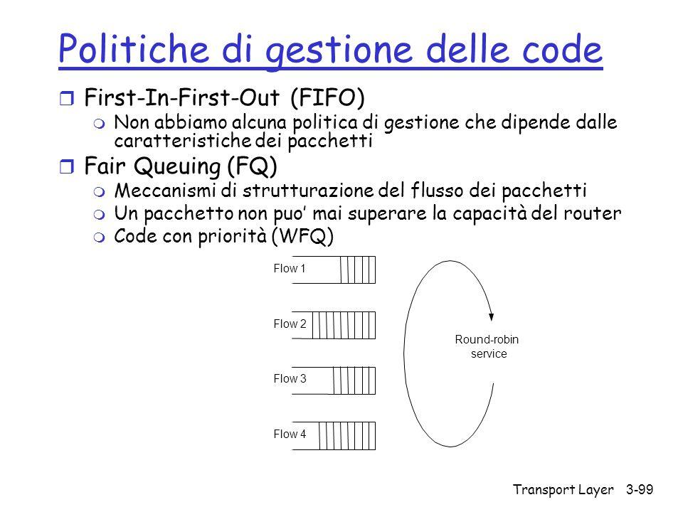 Politiche di gestione delle code