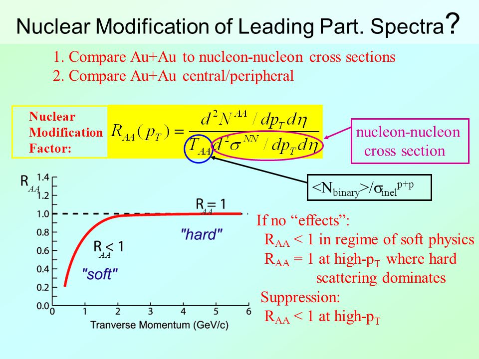 Nuclear Modification of Leading Part. Spectra