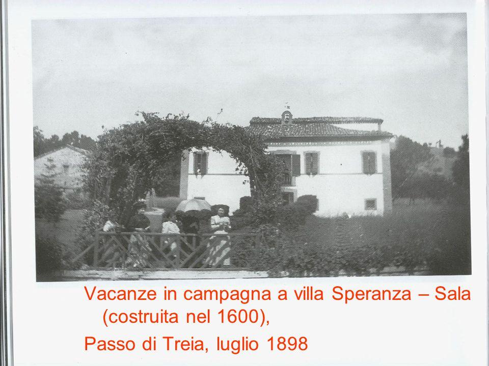 Vacanze in campagna a villa Speranza – Sala (costruita nel 1600),