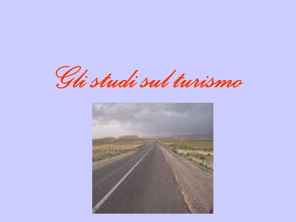 Gli studi sul turismo