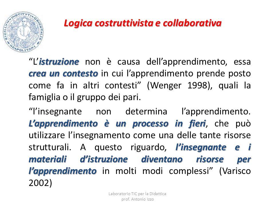 Logica costruttivista e collaborativa