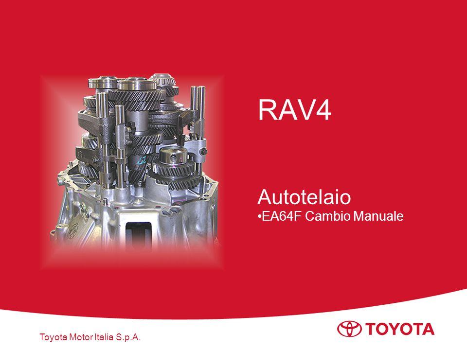 Autotelaio EA64F Cambio Manuale