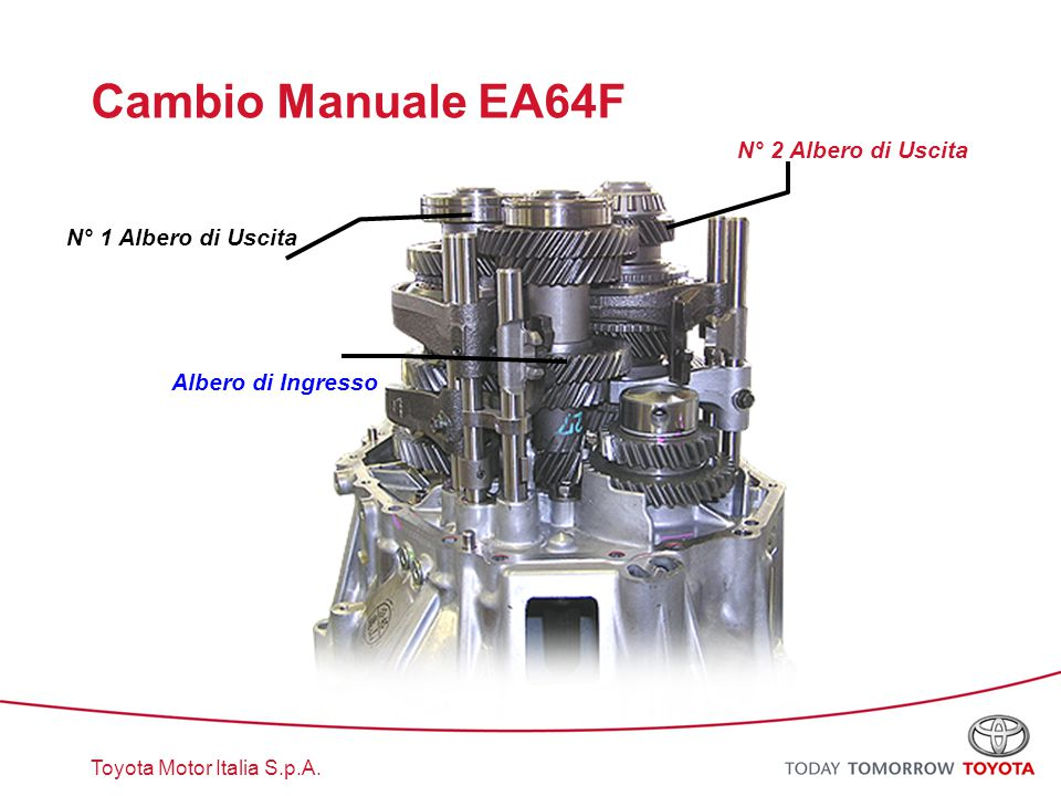 Cambio Manuale EA64F N° 2 Albero di Uscita N° 1 Albero di Uscita