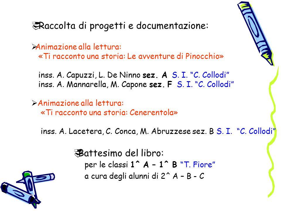 Raccolta di progetti e documentazione: