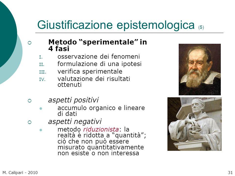 Giustificazione epistemologica (5)