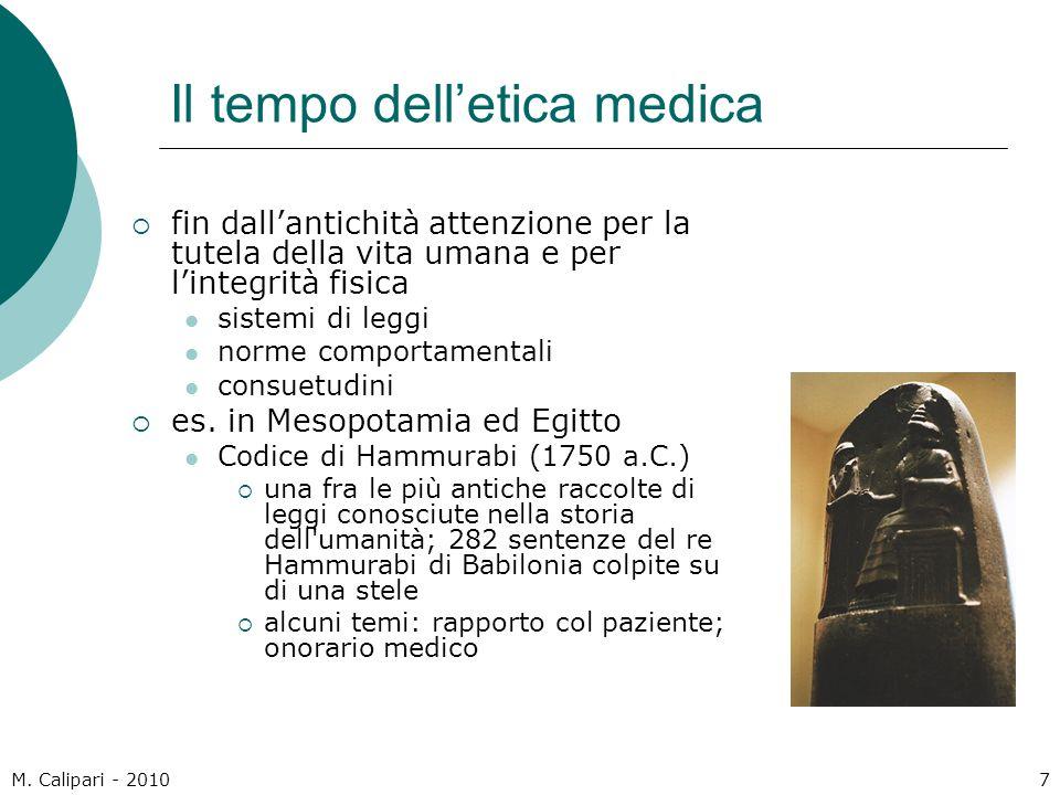 Il tempo dell'etica medica