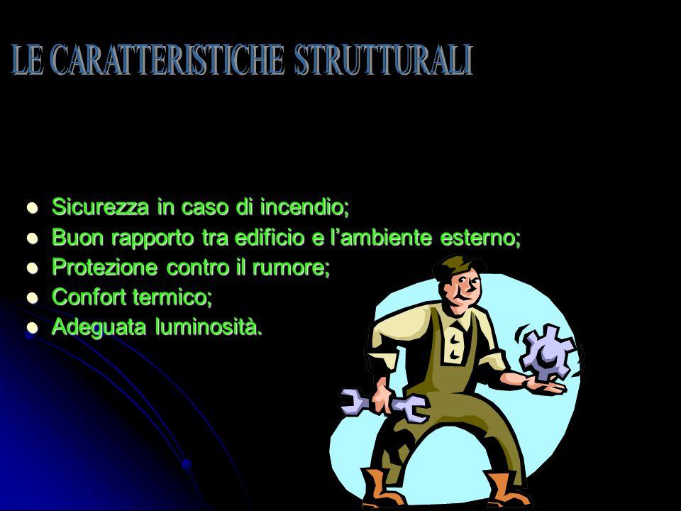 LE CARATTERISTICHE STRUTTURALI