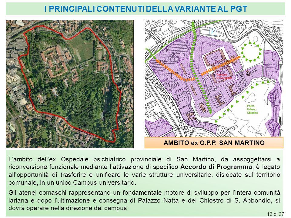 AMBITO ex O.P.P. SAN MARTINO