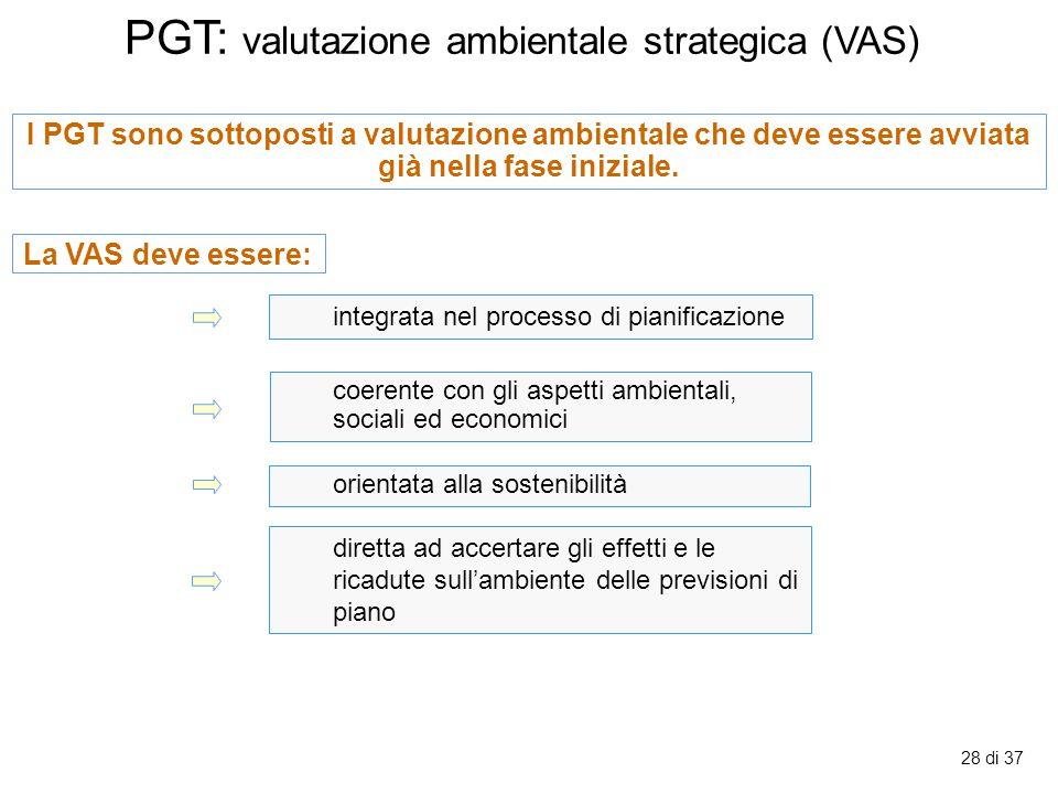 PGT: valutazione ambientale strategica (VAS)