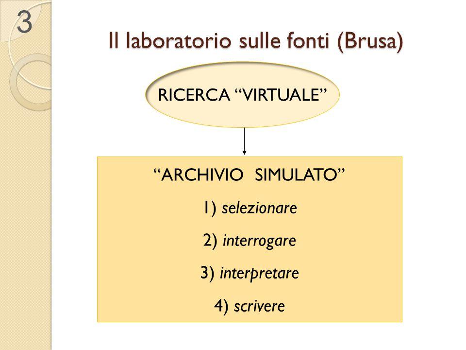 Il laboratorio sulle fonti (Brusa)