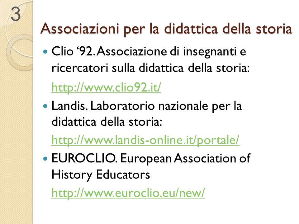 Associazioni per la didattica della storia
