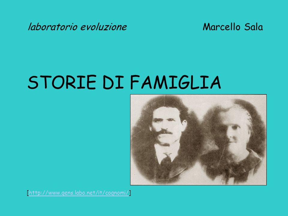 laboratorio evoluzione Marcello Sala