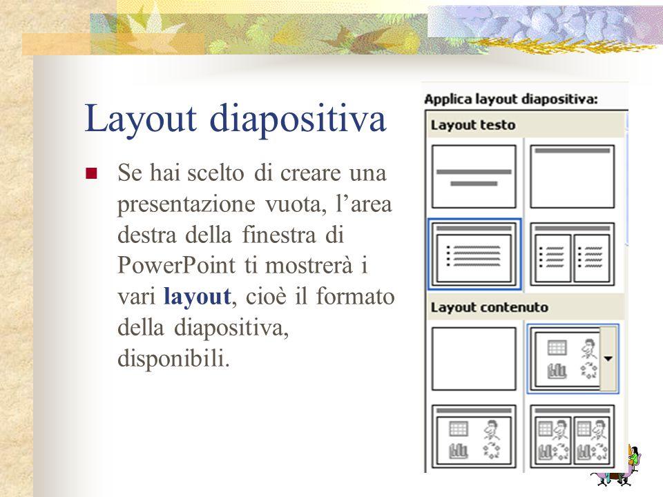 Layout diapositiva