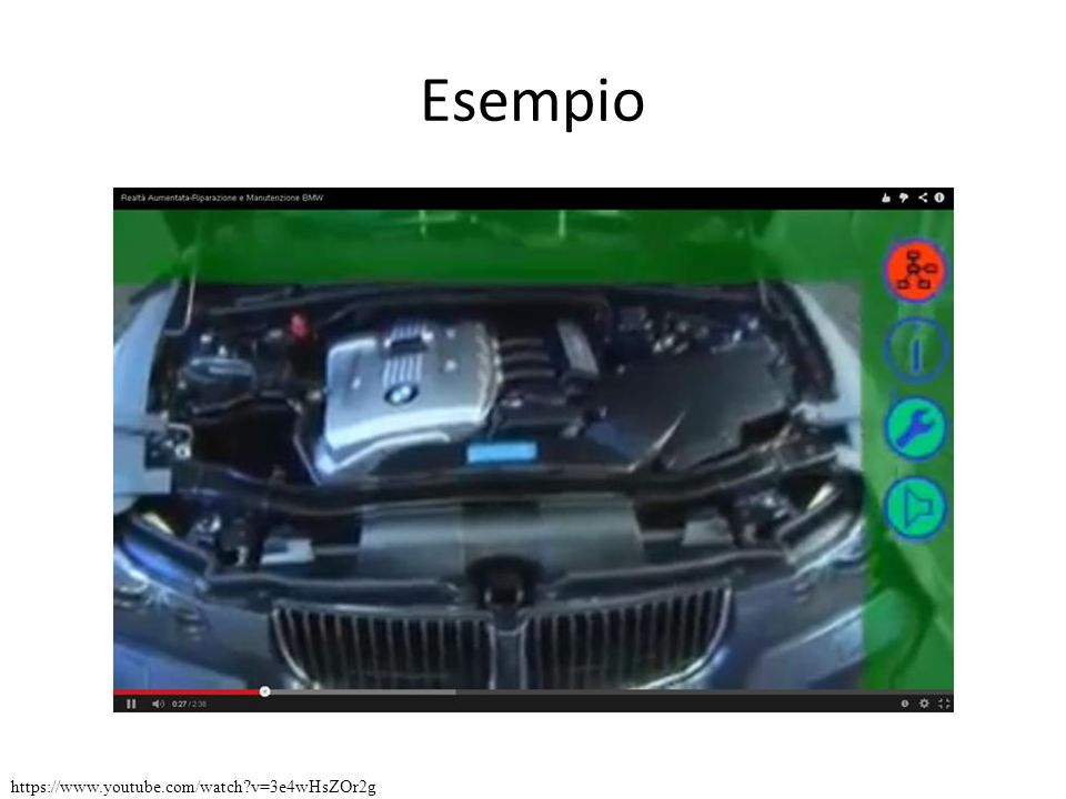 Esempio https://www.youtube.com/watch v=3e4wHsZOr2g
