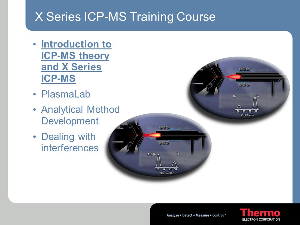 X Series ICP-MS Training Course