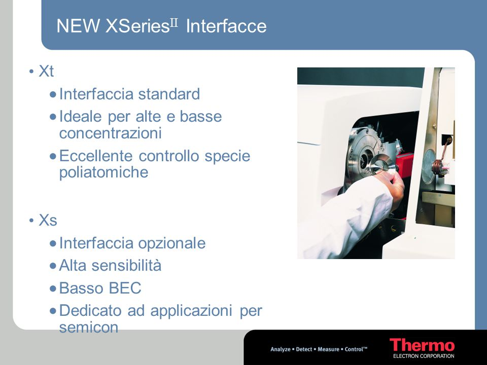 NEW XSeriesII Interfacce