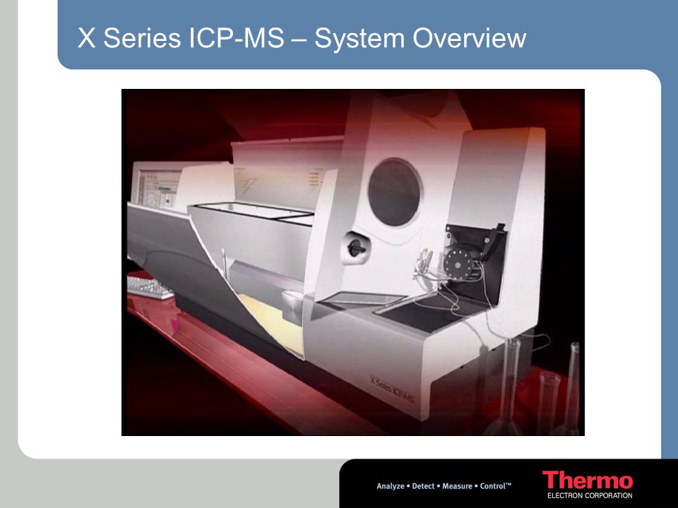 X Series ICP-MS – System Overview