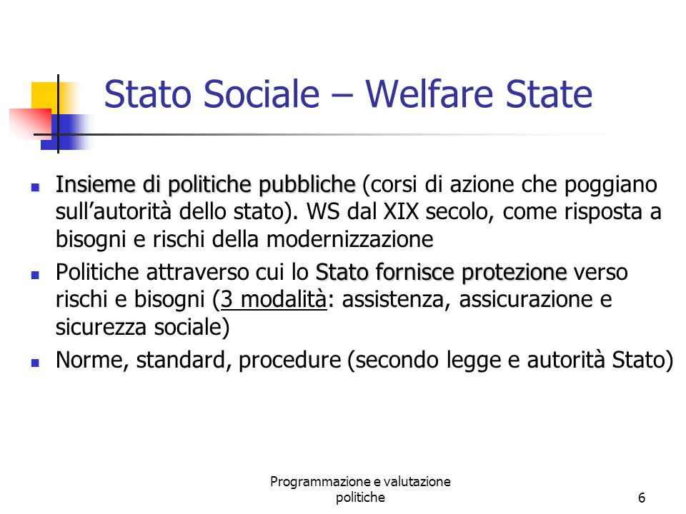 Stato Sociale – Welfare State