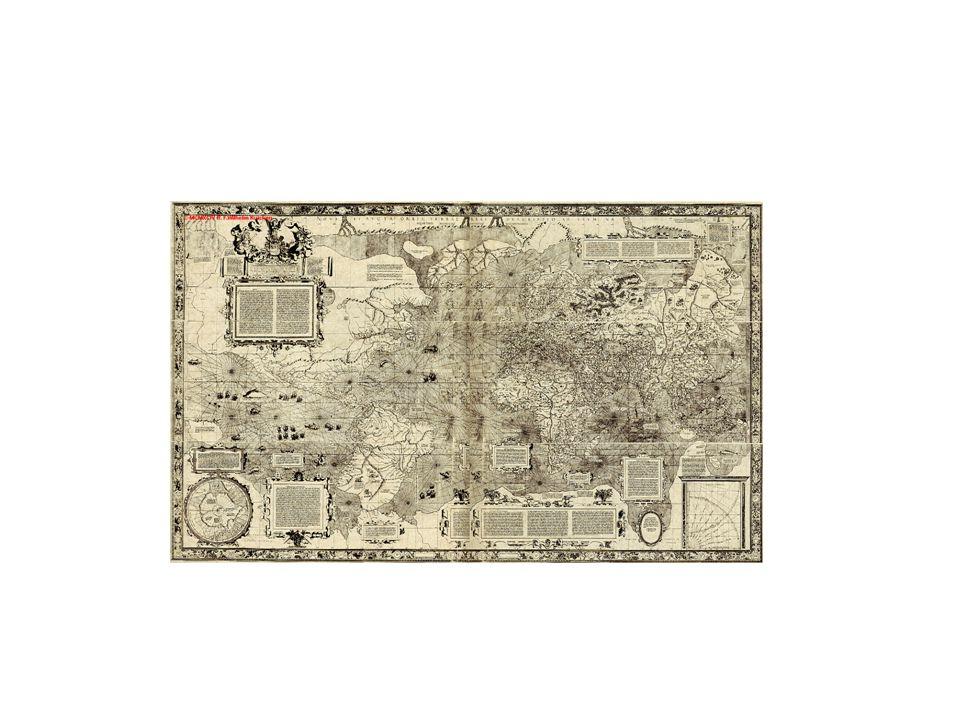 Il famoso planisfero di Mercatore è del 1569
