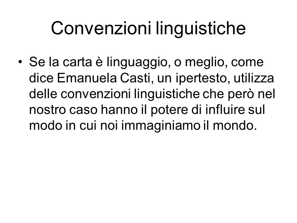 Convenzioni linguistiche