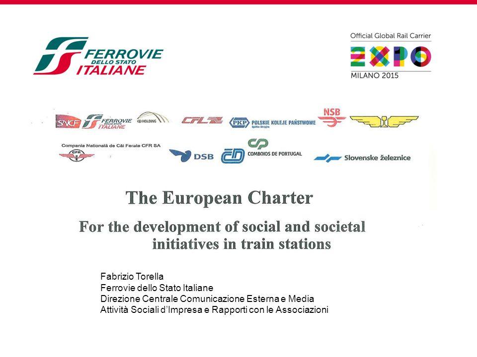Fabrizio Torella Ferrovie dello Stato Italiane. Direzione Centrale Comunicazione Esterna e Media.