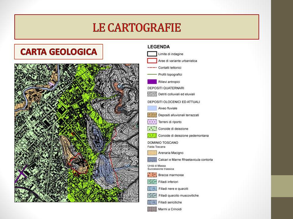 LE CARTOGRAFIE CARTA GEOLOGICA