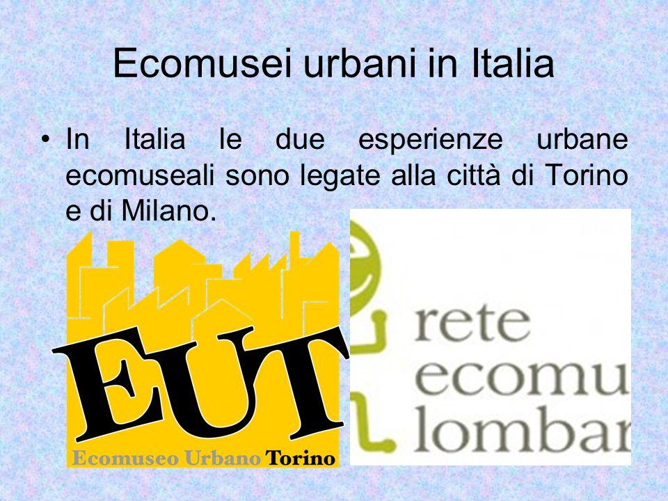 Ecomusei urbani in Italia