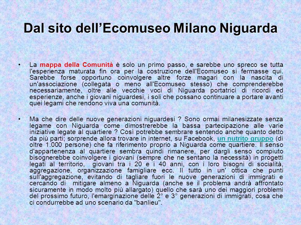 Dal sito dell'Ecomuseo Milano Niguarda