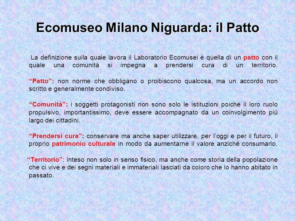 Ecomuseo Milano Niguarda: il Patto
