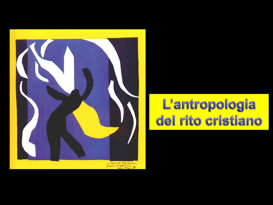 L'antropologia del rito cristiano