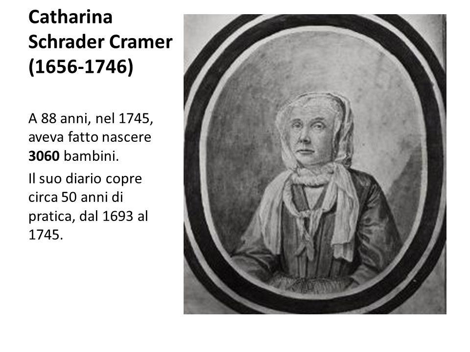 Catharina Schrader Cramer (1656-1746)