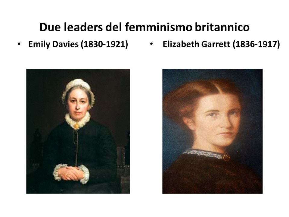 Due leaders del femminismo britannico