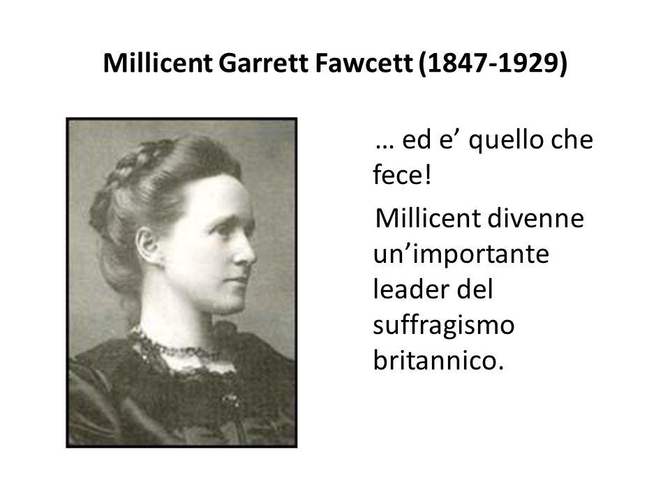 Millicent Garrett Fawcett (1847-1929)