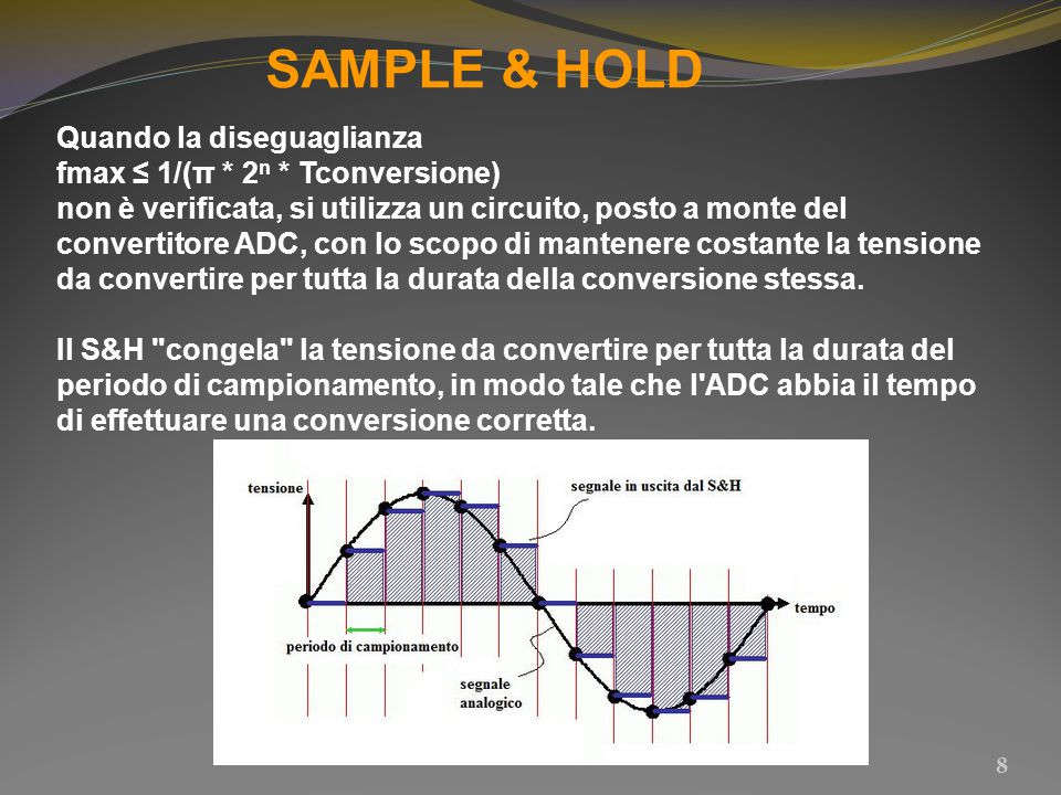 SAMPLE & HOLD Quando la diseguaglianza